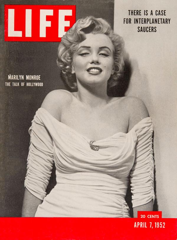 7 aprile 1952 Edizione di Life Magazine, contenente articoli e foto su Lubbock Lights