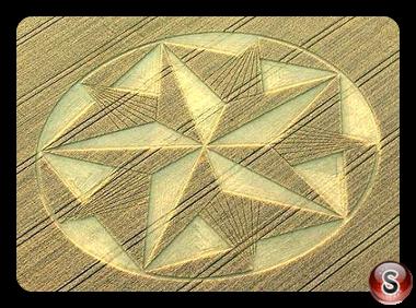 Crop circles - Etchilhampton Hill 2008