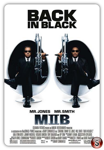 Men in black 2 - Locandina - Poster