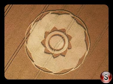 Crop circles - Longwood Warren Hampshire 2018