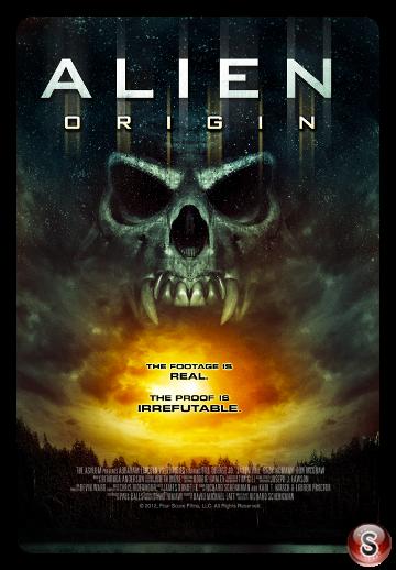 Alien origin - Locandina - Poster