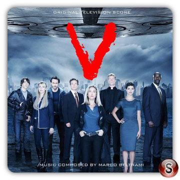V Soundtracks Cover CD