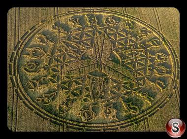 Crop circles - Ansty Wiltshire 2016