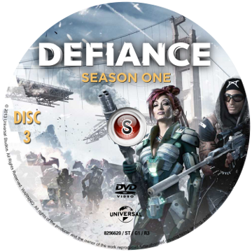 Defiance Cover DVD 3