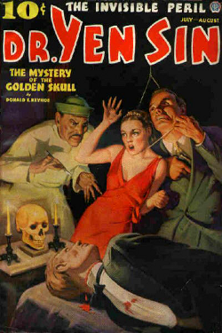 DR. Yen Sin - The mystery of thegolden skull by Donald E. Keyhoe