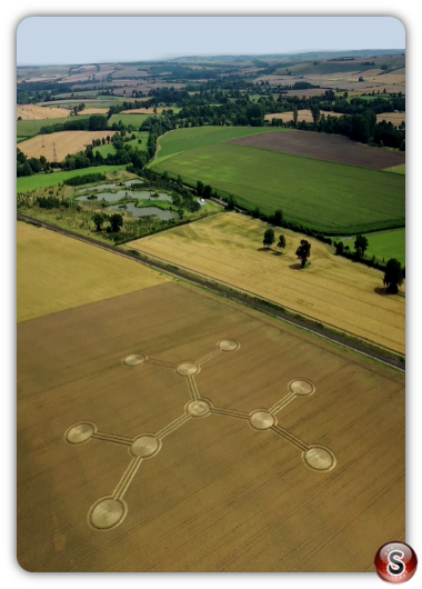 Crop circles Beechingstoke - Wiltshire 2020