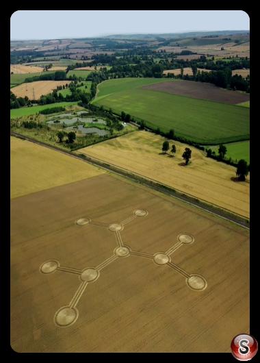 Crop circles - Beechingstoke Wiltshire 2020