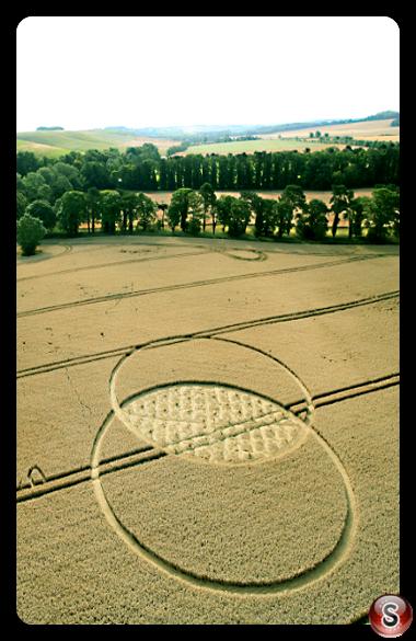 Crop circles - Liddington Wiltshire 2015