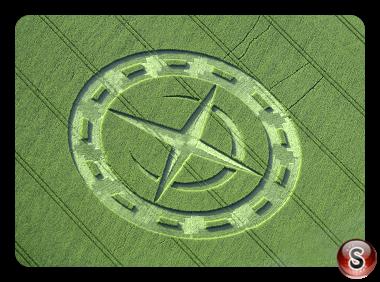 Crop circles - Stonehenge Wiltshire UK 2015
