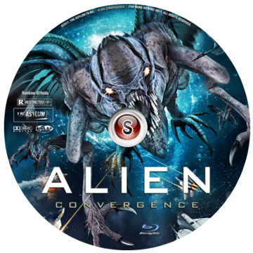 Alien convergence Cover DVD
