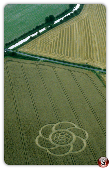 Crop circles - All Cannings Wiltshire 2000