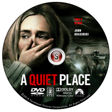 A quiet place Cover DVD