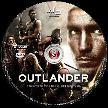 Outlander Cover DVD