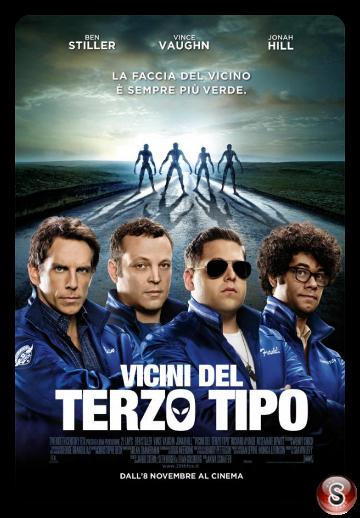 Vicini del terzo tipo - The watch - Locandina - Poster