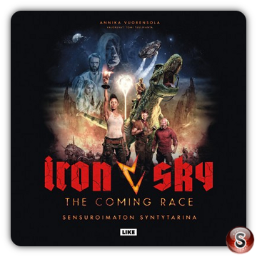 Iron sky: The coming race Soundtrack Cover CD