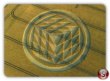 Crop circles - Tichborne Hampshire 2019
