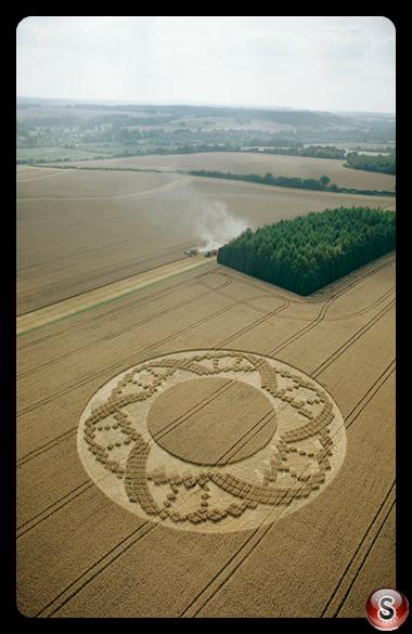 Crop circles - Crooked Soley Berkshire 2002