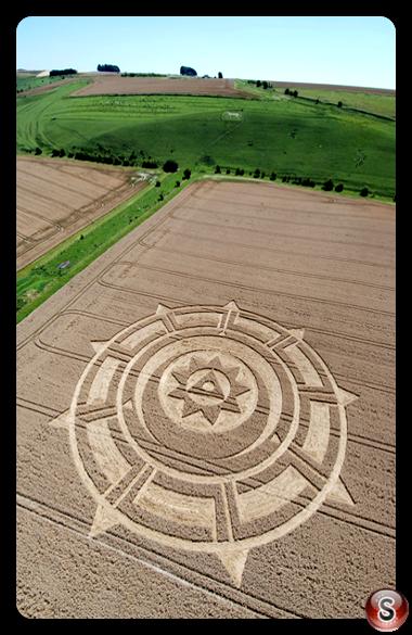 Crop circles - Pewsey 2007