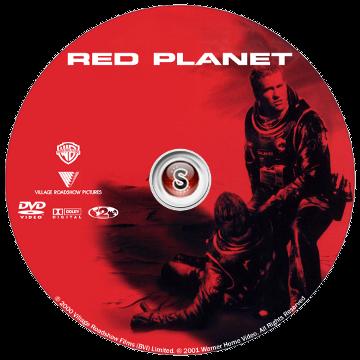 Pianeta rosso Cover DVD