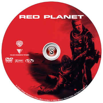 Red planet - Pianeta rosso Cover DVD