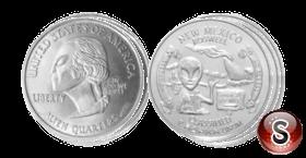 Coin Alien New Mexico Quarters
