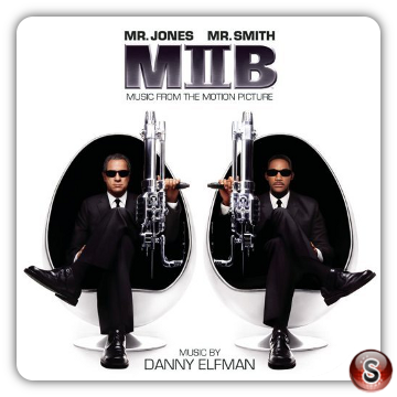 Men in black 2 Soundtracks Cover CD