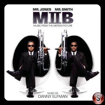 Men in black 2 Soundtrack Cover CD