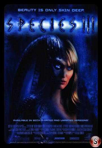 Species 3 - Locandina - Poster