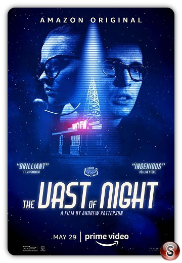 The vast of night - Locandina - Poster