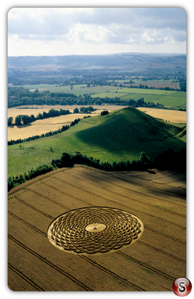 Crop circles - Picked Hill, Wiltshire 2000