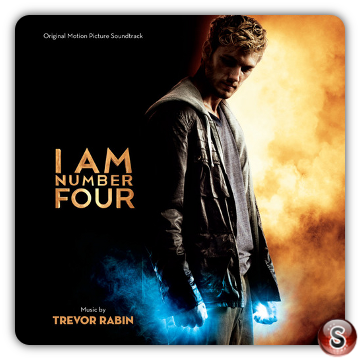 I Am Number Four Soundtracks Cover CD