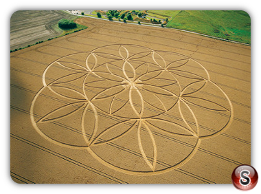Crop circles - Barbury Castle, Wiltshire 2003