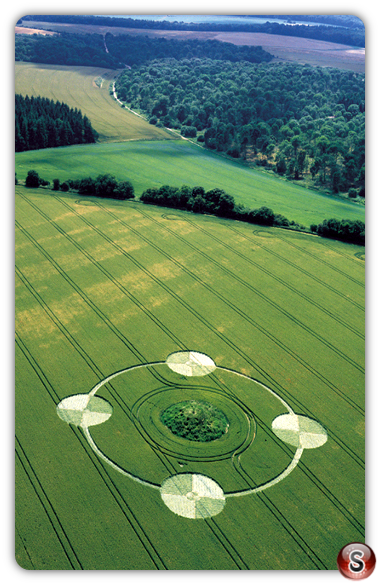 Crop circles - Everleigh Ashes Wiltshire 2000