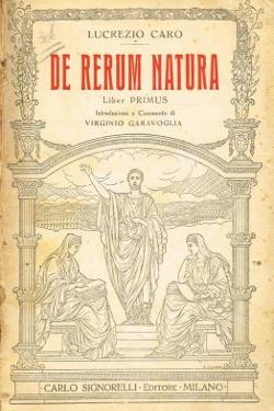 De rerum natura. La natura by Tito Lucrezio Caro