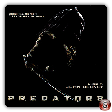 Predators Soundtrack Cover CD