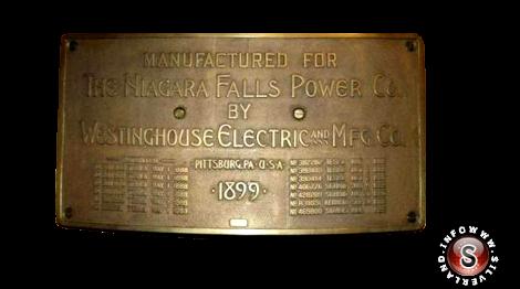 Targa commemorativa per ricordare Nikola Tesla