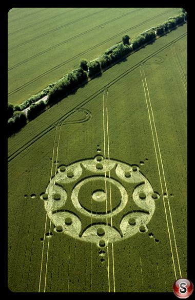 Crop circles - Lane End Down Hampshire 2001