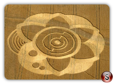 Crop circles - Slovakia Kozarovce, Tlmace 2009