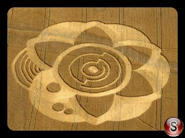 Crop circles - Slovakia Kozarovce Tlmace 2009
