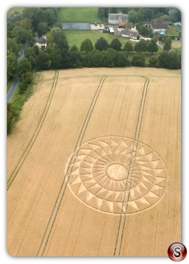 Crop circles Woolstone - Oxfordshire 2020