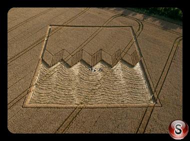 Crop circles - Devils Den Wiltshire UK 2012