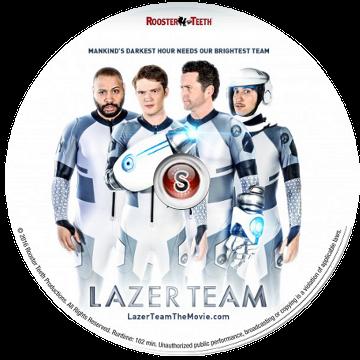 Lazer team Cover DVD