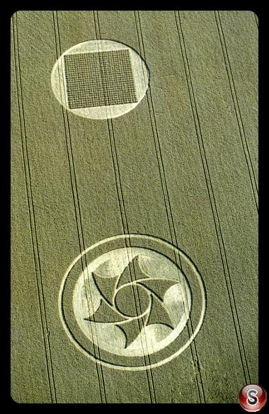 Crop circles - Etchilhampton, Wiltshire 1997