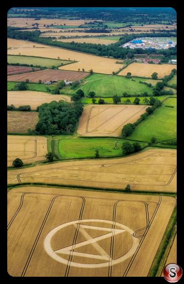 Crop circles - Malmesbury Wiltshire  2019