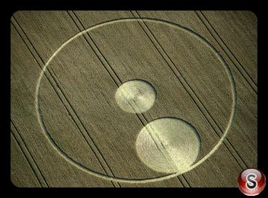 Crop circles - Roundway, Wiltshire 1995