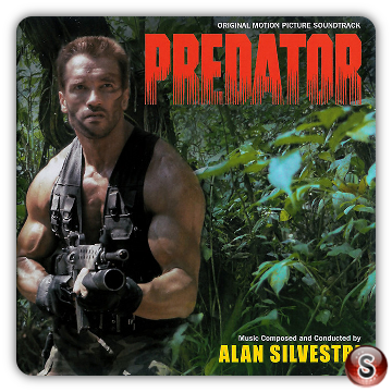 Predator Soundtracks Cover CD