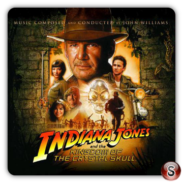 Kingdom of the crystal skull Soundtracks Cover CD