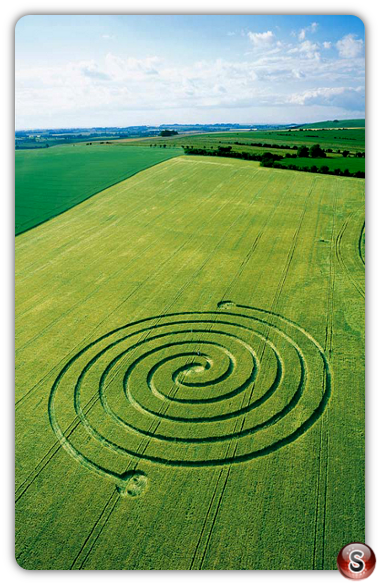 Crop circles - West Overton, Wiltshire 2002