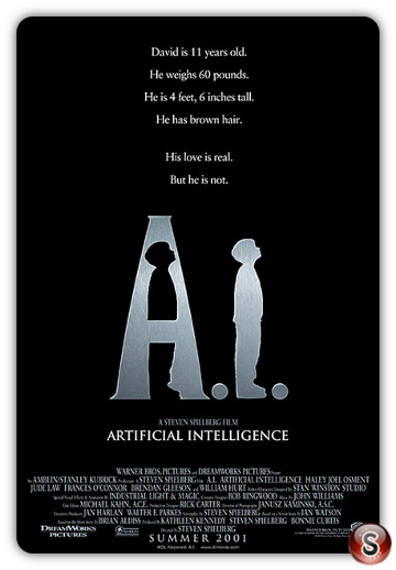 A.I. Intelligenza artificiale - Artificial intelligence - Locandina - Poster