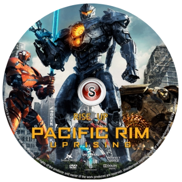 Pacific Rim Uprising Cover DVD